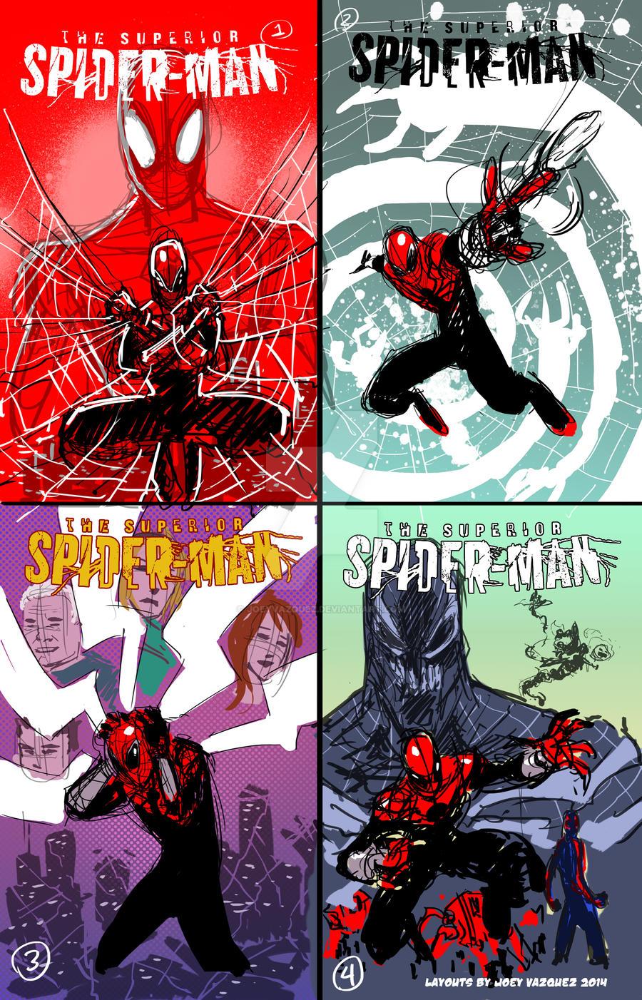 superior spider man print layouts by joeyvazquez on deviantart