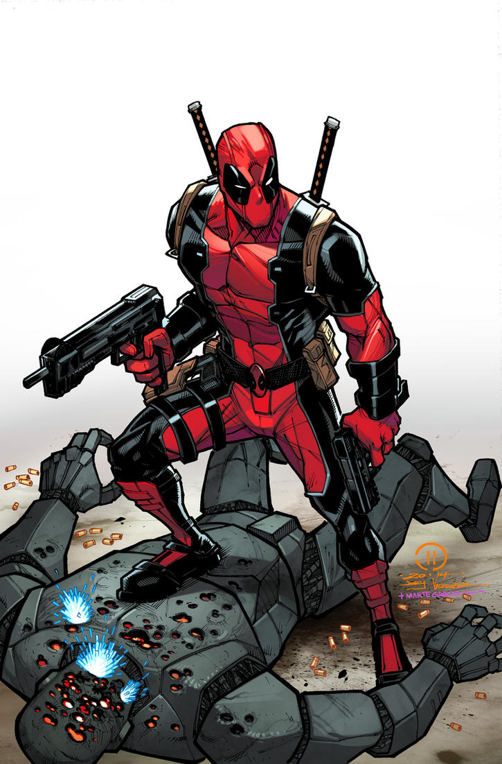 Dead Pool collab Marte Gracia colors by JoeyVazquez