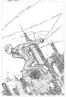 Spider-man pencils by JoeyVazquez