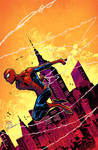 The amazing spider-man color