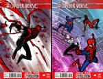 Spider-verse thumbnail sketches