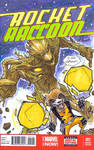 Groot and Rocket sketch cover
