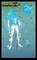 Digital spider-man design by JoeyVazquez