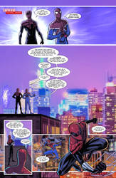 Spider Verse Digital Spider-man fan comic page 1 by JoeyVazquez