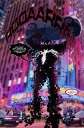 Spider Verse Digital Spider-man fan comic page 2 by JoeyVazquez