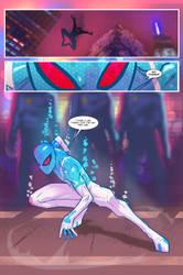 Spider Verse Digital Spider-man fan comic page 3 by JoeyVazquez