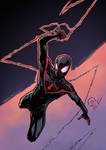Ultimate Spider-man colors
