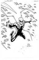 Superior Spider-man commission inks by JoeyVazquez
