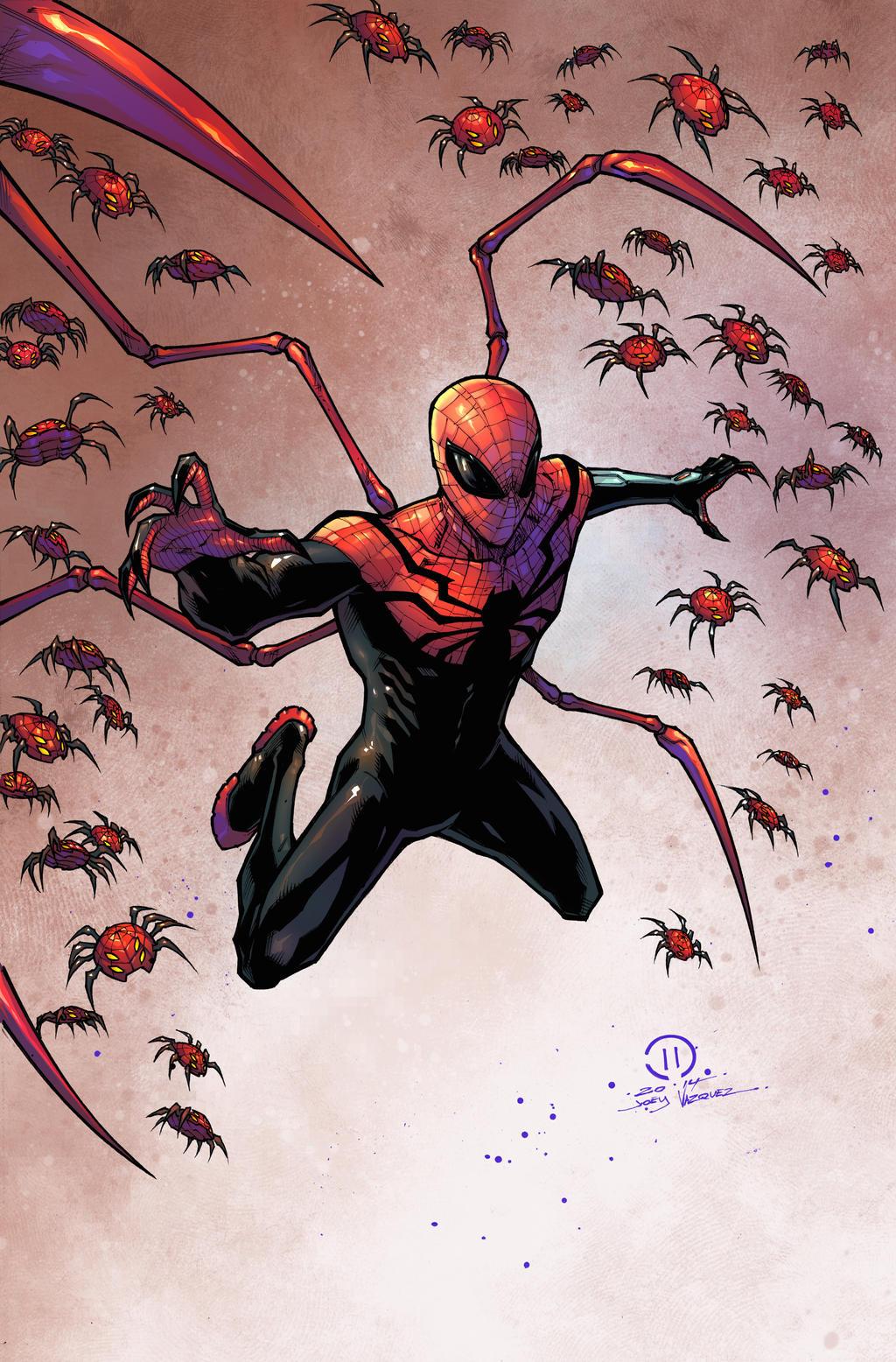 Superior Spider man Colored By JoeyVazquez On DeviantArt