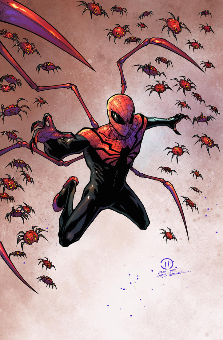 Superior Spider-man colored by JoeyVazquez