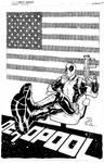 Deadpool commission inks