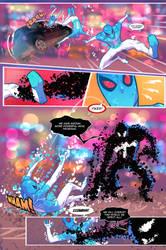 Spider-Verse Digital spider-man fan comic page 5 by JoeyVazquez