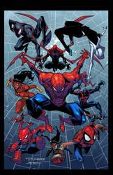 Khary Randolph Spider-Verse my colors. by JoeyVazquez