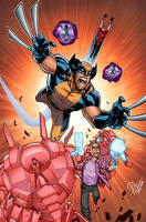 Wolverine and the X-men epic by JoeyVazquez