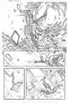 Marvel spidey sample page 1 pencils
