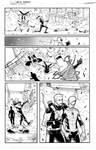 Marvel spidey sample page 3 inks