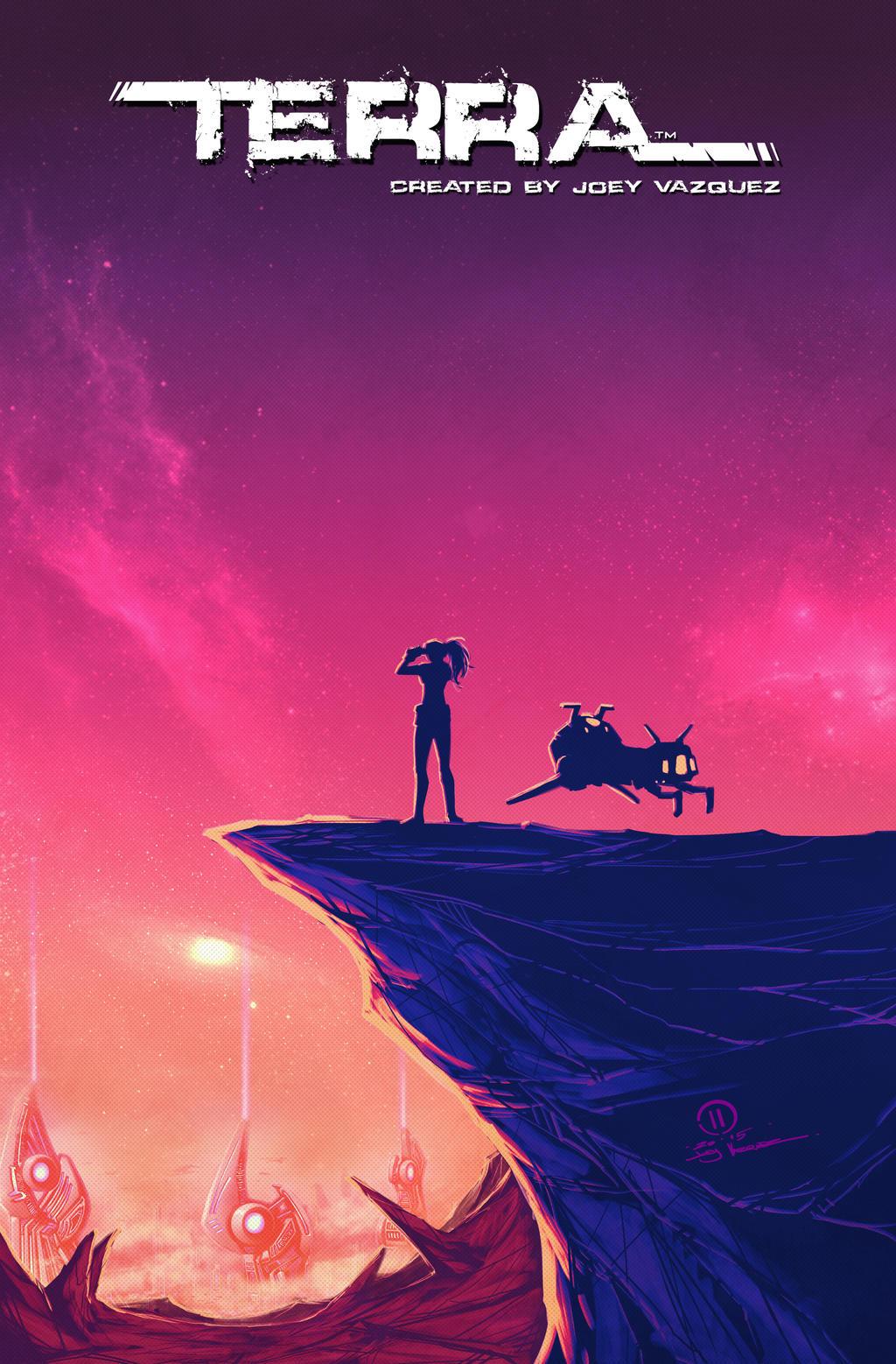 Terra sunset city by JoeyVazquez