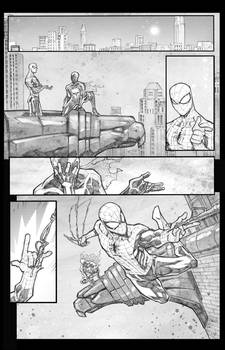 Spidey vs the Spot sample page 4 digital touch