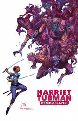 Harriet Tubman demon slayer cover by JoeyVazquez