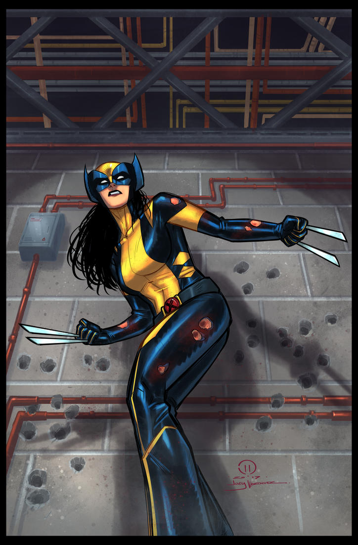 All New All Different Avengers Vol 1 2: All New Wolverine By JoeyVazquez On DeviantArt
