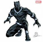 Black Panther licensing art