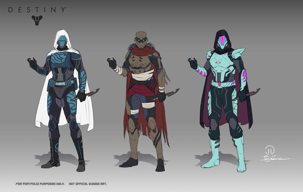 View Destiny 2 Hunter Art JPG