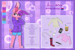 ''Lorena''  Reference Sheet  2018-19
