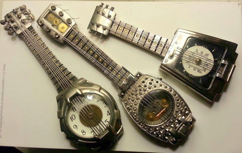 Watch Part Guitars by randomasusual