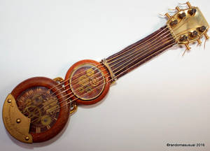 Steampunk Watch Parts Guitar