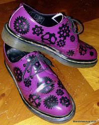 Painted My Doc Martens! by randomasusual