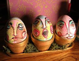 Eggs by ChamomileMonster