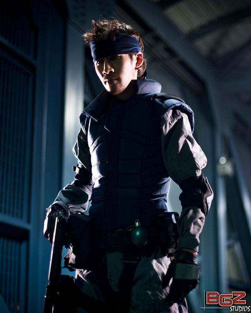 Metal Gear Solid Snake 1 by bgzstudios