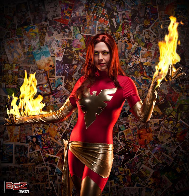 Blazing Phoenix 2 by bgzstudios
