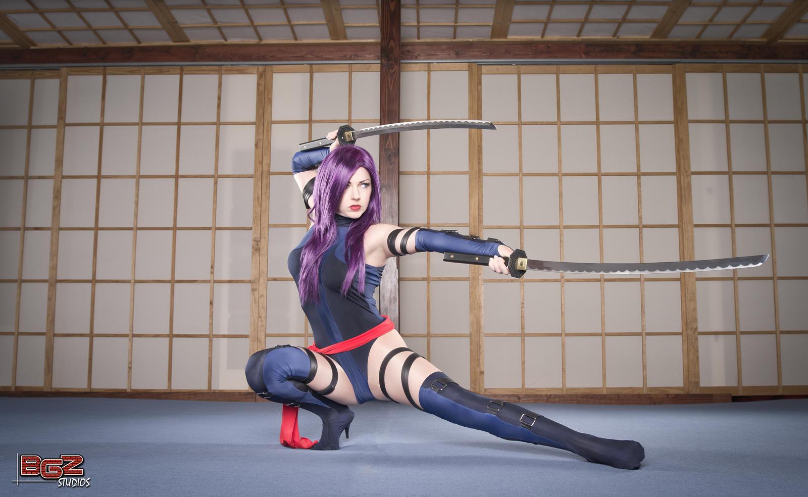 Psylocke in Training