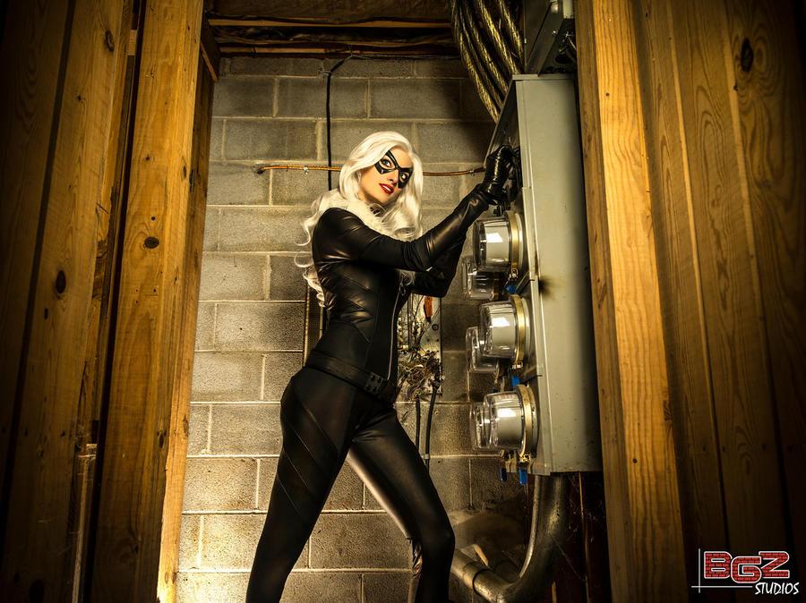 Black Cat Cosplay - breaking in.. by bgzstudios