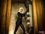 Black Cat Cosplay - breaking in..