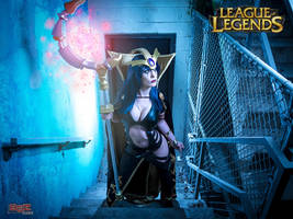 League of Legends Leblanc Cosplay 1 by bgzstudios