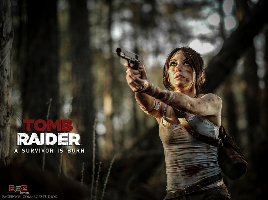 Tomb Raider Reborn Cosplay - I will overcome..