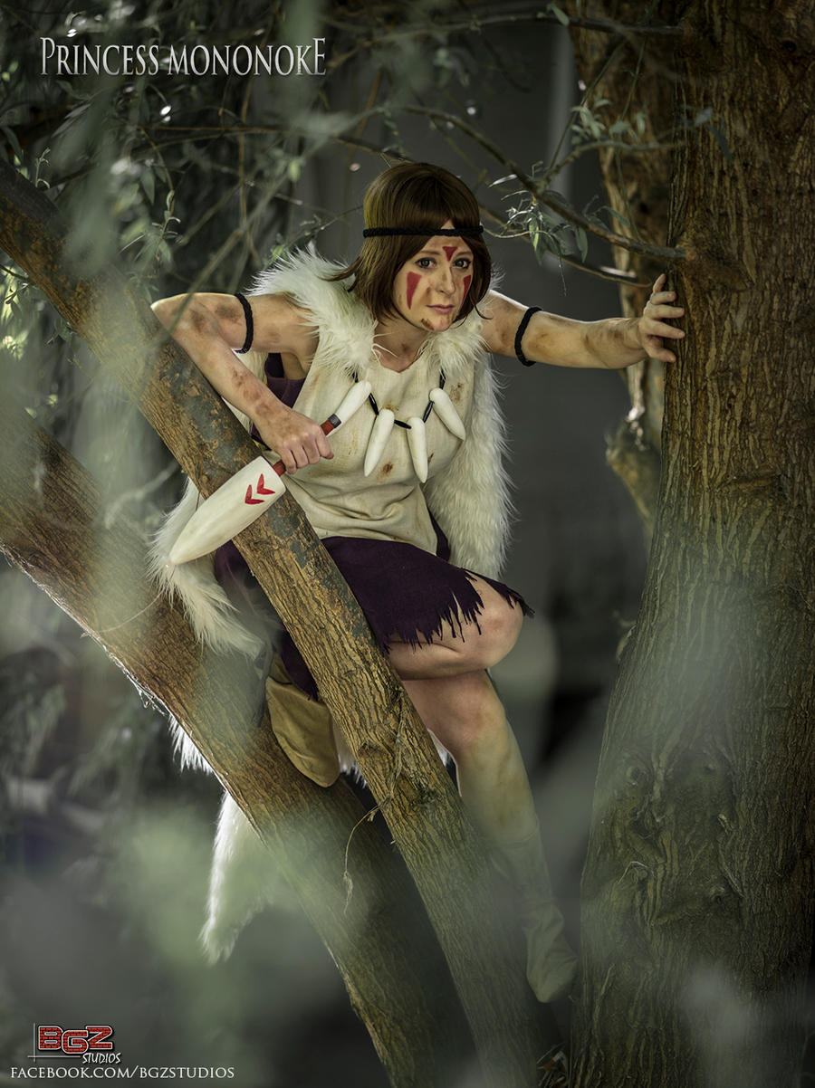 Princess Mononoke - in the canopy by bgzstudios