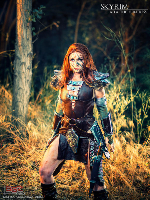 Aela the Huntress - Skyrim Cosplay by bgzstudios