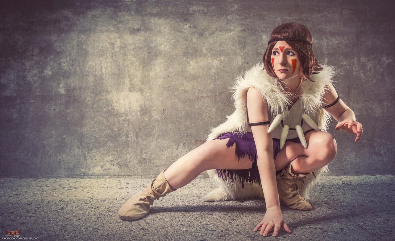 Princess Mononoke Cosplay - Rising of San by bgzstudios