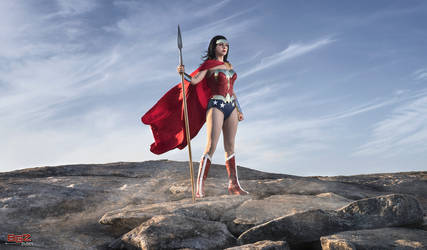 On the Lookout - Wonder Woman Cosplay