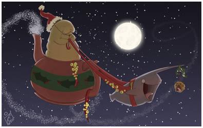Have a Happy Nahrwal Christmas by iisjah