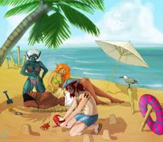Summer mischief by iisjah