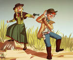 Costume Challenge - Wild West by iisjah
