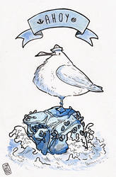 Ahoy seagull!