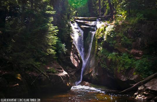 Karkonosze 9 - Waterfall Szklarki