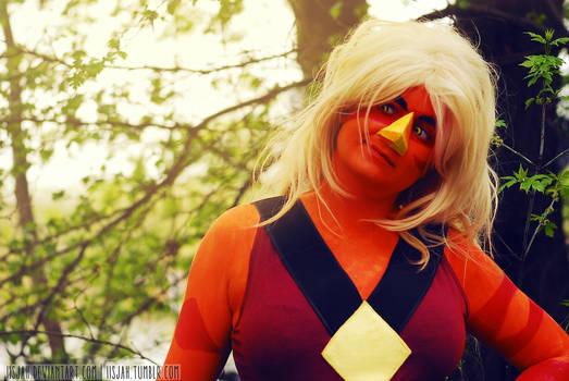 Jasper portrait - post Pyrkon 2016 cosplay