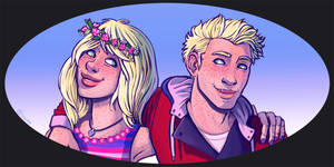 Siblings - commission