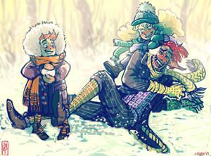 Snow Battle - Iisjah O'Riley OC Pageant Theme 13
